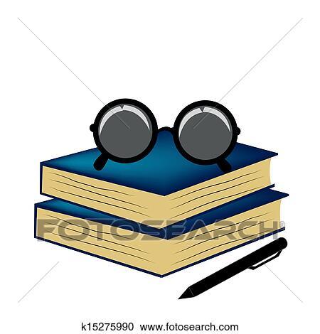 剪贴画 - 材料, 为, 阅读