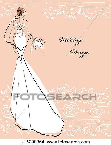 剪贴画 - 婚礼, 设计