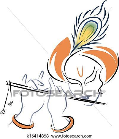 Clip Art - Sri Krishna...