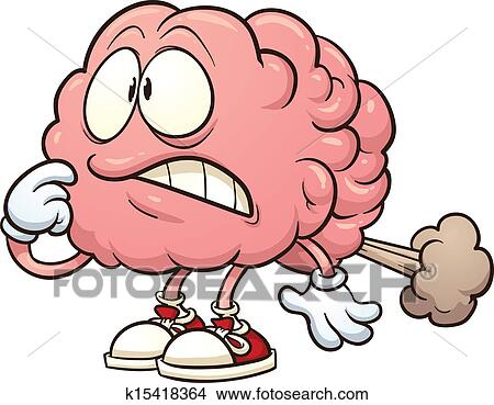Clipart of Brain fart k15418364 - Search Clip Art ...