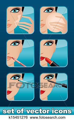 Makeup icons