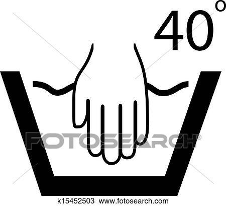 Zeichen handwäsche