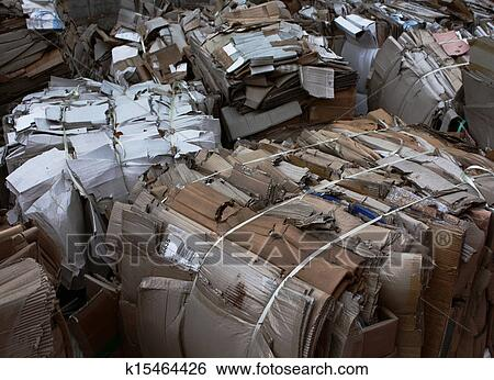 Stock images of waste paper recycling k15464426 search for Art from waste paper