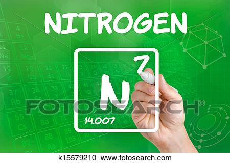 stock illustrations of symbol for the chemical element