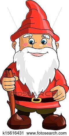 Clipart Gnome Fotosearch Search Clip Art Illustration Murals