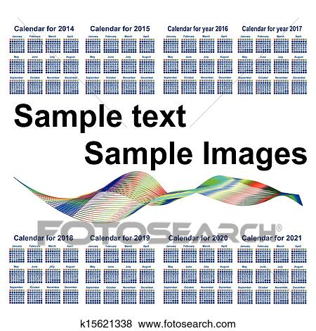 Clip Art of Calendar for 20142015201620172018201920202021 – Sample 2015 Calendar