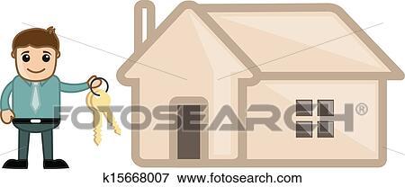 Home Loan Cartoons Clip Art Home Loan