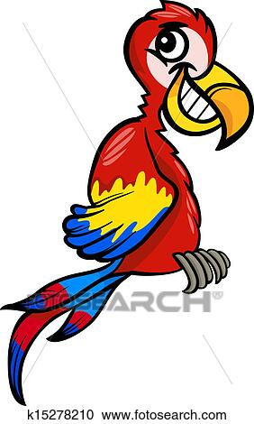 clipart of macaw clip art cartoon illustration k15278210 search rh fotosearch com macaw clipart free macaw clipart