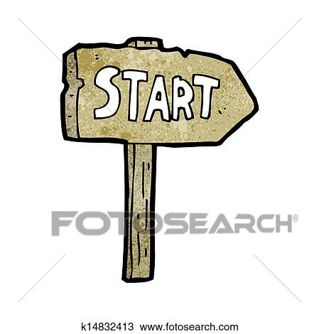 clipart of start symbol cartoon k14832413 search clip art rh fotosearch com star clip art borders star clip art images