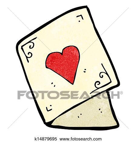 Cartoon valentine cards