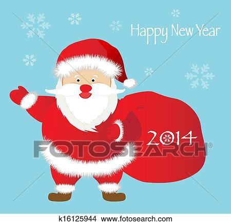 剪贴画 - 问候, 圣诞节和新年图片