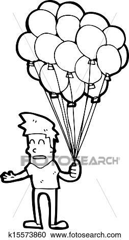 Balloon man cartoon images