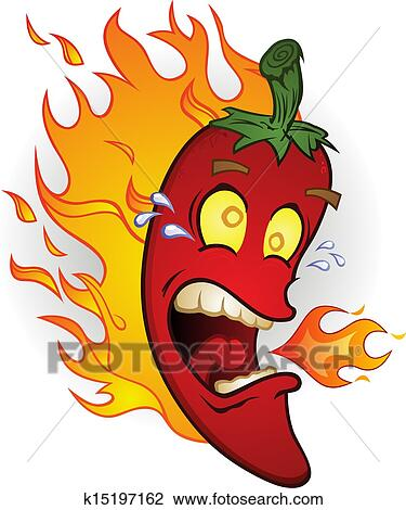 Chili hott poivre porno rouge