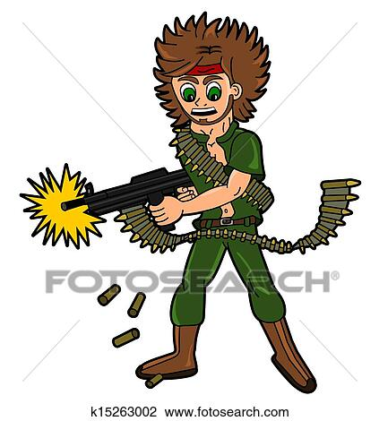 Real Mercenaries Clip Art