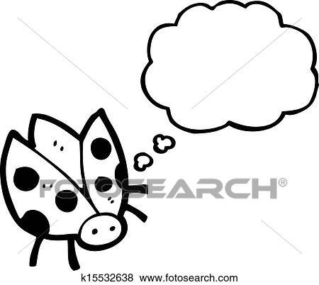 瓢虫绘画步骤图