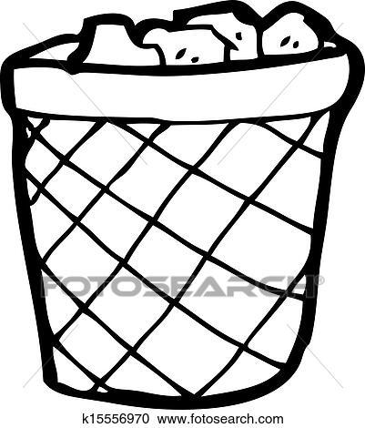 卡通漫画, 废纸篮子