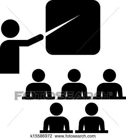 Clipart - Vector training icon. Fotosearch - Search Clip Art ...: fotosearch.com/csp994/k15586972