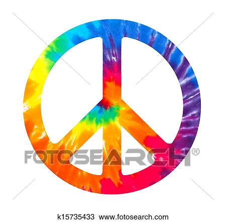 Clip Art Tie Dye Clip Art clipart of tie dyed love symbol k4883690 search clip art want to pay less for stock images