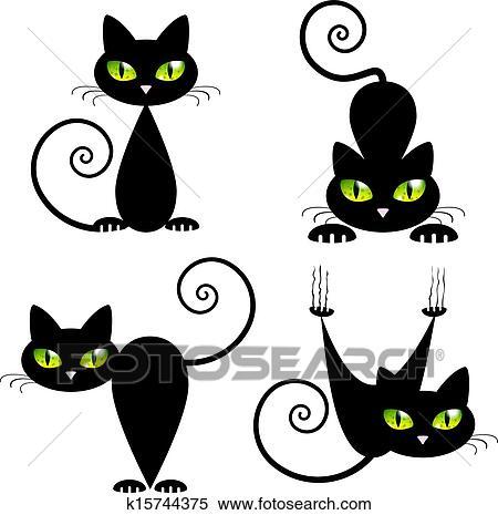Dessin chat noir - Dessin chat noir ...