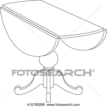 round table clipart black and white. clip art - round table drawing . fotosearch search clipart, illustration posters, drawings clipart black and white