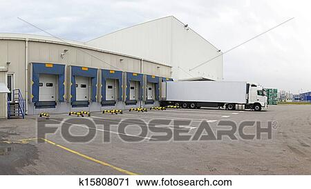 Stock Photography of Distribution center k15808071 ...