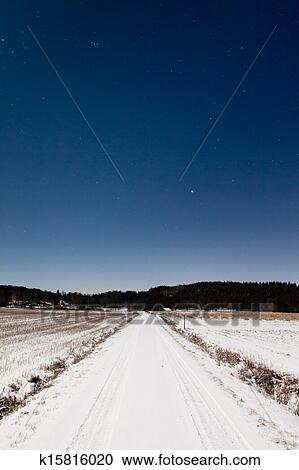 星星月亮雪图片大全