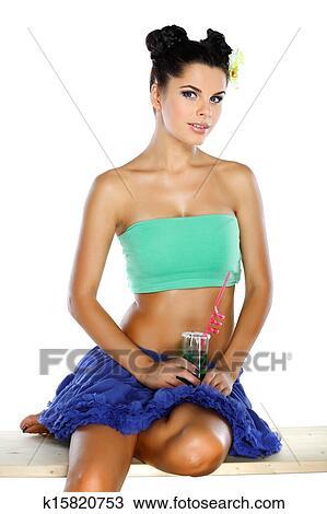 Girl on guy lap dance