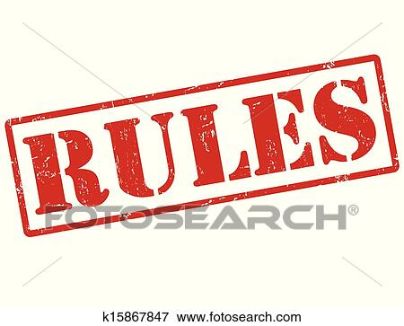 clip art of rules stamp k15867847 search clipart