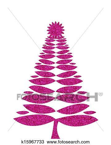 zeichnung hei es rosa weihnachtsbaum hintergrund mit. Black Bedroom Furniture Sets. Home Design Ideas