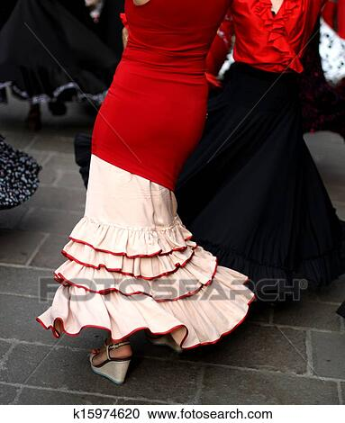 stock fotografie flamenco t nzer experte und tanz. Black Bedroom Furniture Sets. Home Design Ideas