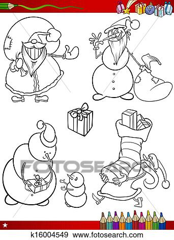 剪贴画 - 卡通漫画, 圣诞节