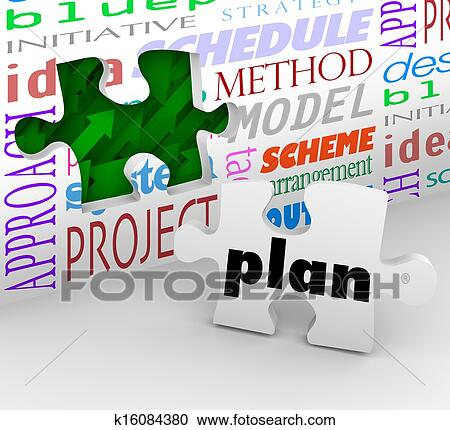 Wood work blueprint computer software images blueprint design and stock photography of plan puzzle piece complete strategy blueprint synonym crossword malvernweather Choice Image