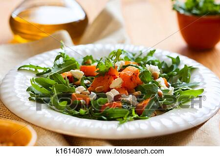 салат из свежей тыквы рецепты с фото