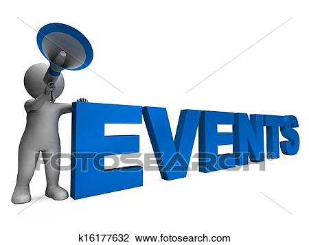 Clip Art - Events Character Means Concert Occasion Events Or Functions.  Fotosearch - Search Clipart