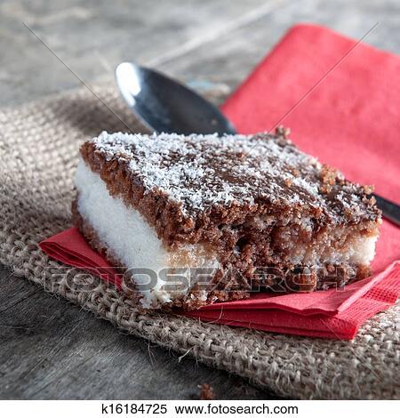 шоколадно-кокосовый торт рецепт с фото