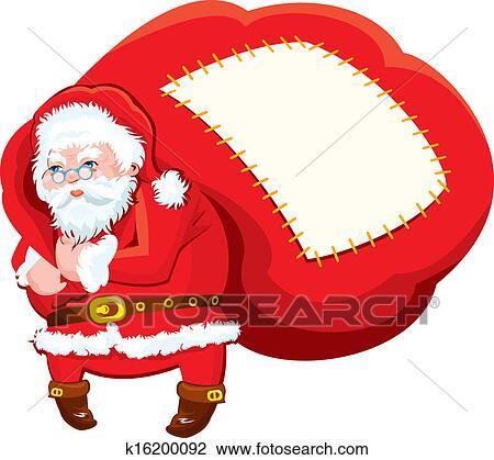 剪贴画 卡通漫画, 圣诞老人