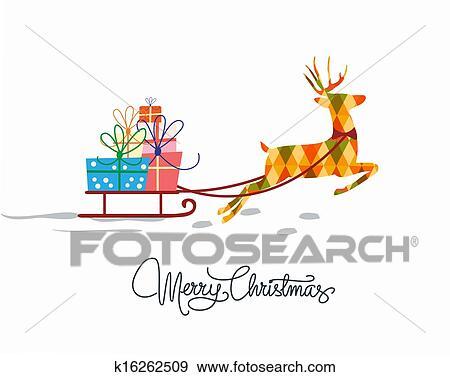 stock illustration weihnachten glueckwunschkarten