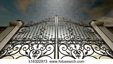 Heaven Gates Drawing Drawing Heavens Closed