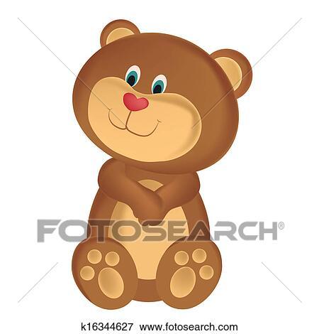 可爱, 玩具熊