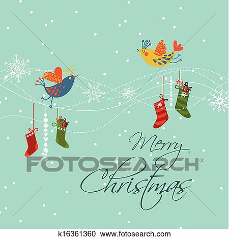Mesmerizing merry xmas vector images