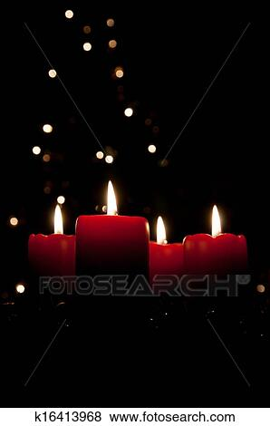 Pictures of christmas advent wreath with burning candles - Advent hintergrundbilder ...