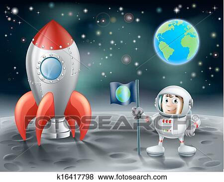 astronaut reaching out clip art - photo #49
