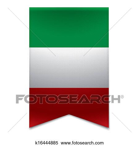 clipart of ribbon banner italian flag k16444885 search clip art rh fotosearch com italian flag clip art free