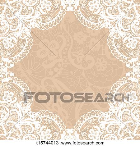 Clipart of vintage lace invitation card k15744013 search clip art clipart vintage lace invitation card fotosearch search clip art illustration murals stopboris Choice Image