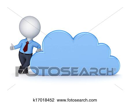 clip art of cloud computing concept k17018452 search clipart rh fotosearch com Cloud Computing Diagram Cloud Computing Timeline