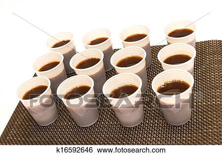 Engangskopper kaffe