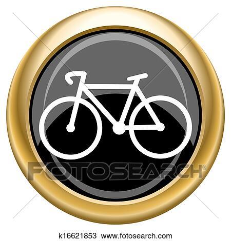 手绘图 - 自行车, 图标
