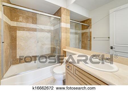 stock foto badezimmer toilette in luxus haus k16662672 suche stockfotografie fotodrucke. Black Bedroom Furniture Sets. Home Design Ideas