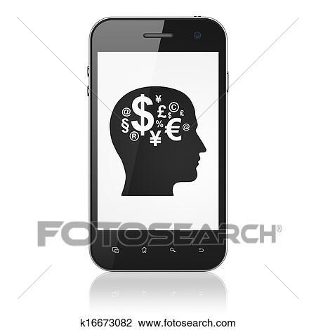 Simbolo Telefone Branco Esperto Telefone Branco