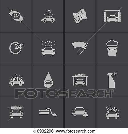 黑色, 汽车洗涤